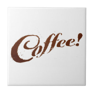 Coffee Grounds Coffee - Tile