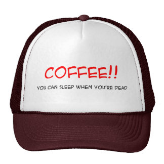 COFFEE!! Hat