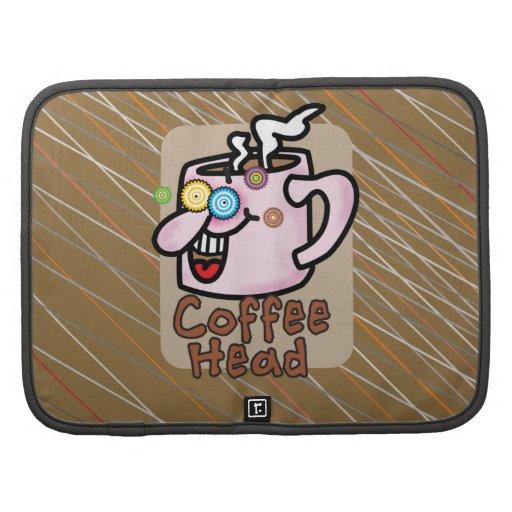 Coffee Head Folio Smartphone Organizers