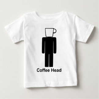 Coffee head.png baby T-Shirt