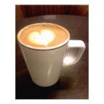 Coffee Heart Customized Letterhead