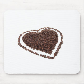 Coffee Heart Mouse Pad