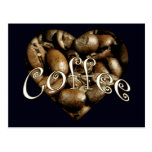 Coffee Heart Post Card