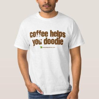 Coffee Helps You Doodie Shirt