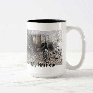 "Coffee ""Horse carriage"" mug"
