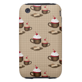 Coffee / Hot Cocoa Dessert Gifts and Bags iPhone 3 Tough Case