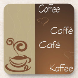 coffee hour drink coaster
