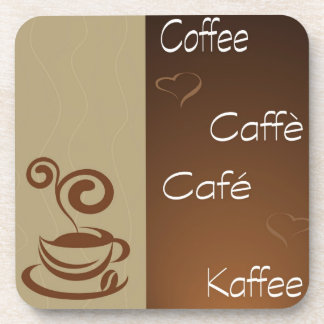 coffee hour drink coaster
