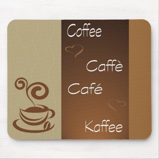 coffee hour mousepads