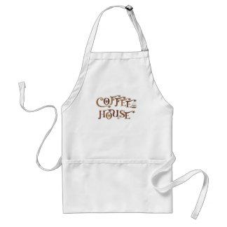 Coffee House Adult Apron