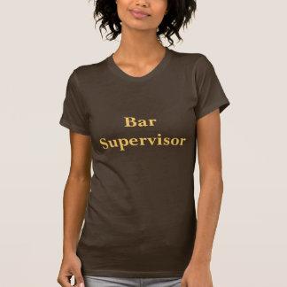 Coffee House Bar Supervisor T Shirt. T-Shirt