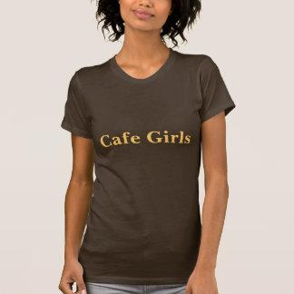 Coffee House Cafe Girls T Shirt.