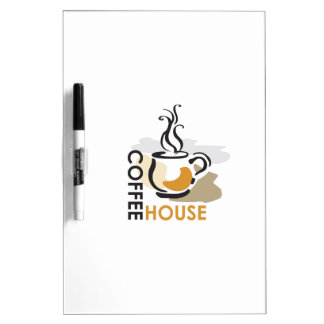 COFFEE HOUSE DRY ERASE WHITEBOARDS
