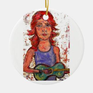 coffee house girl christmas ornaments