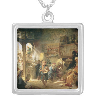 Coffee House in Cairo, 1870s Necklaces