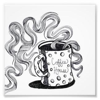 Coffee House Mug Photo Print