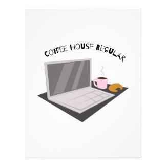 Coffee House Regular Letterhead Template