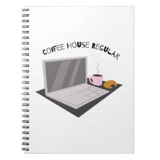 Coffee House Regular Spiral Note Book