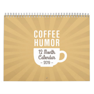 Coffee Humor Calendar