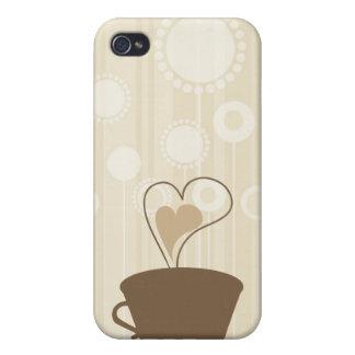 Coffee i iPhone 4/4S cases