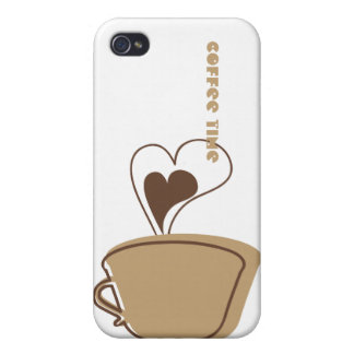Coffee i iPhone 4/4S cover