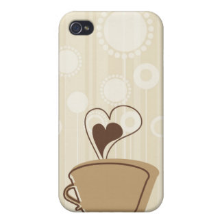 Coffee i iPhone 4 cover