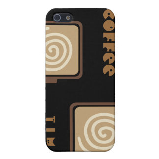 Coffee i iPhone SE/5/5s cover