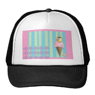 Coffee + Ice Cream = Love A Dreamy Dessert Trucker Hat