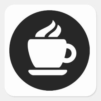 Coffee Ideology Square Sticker