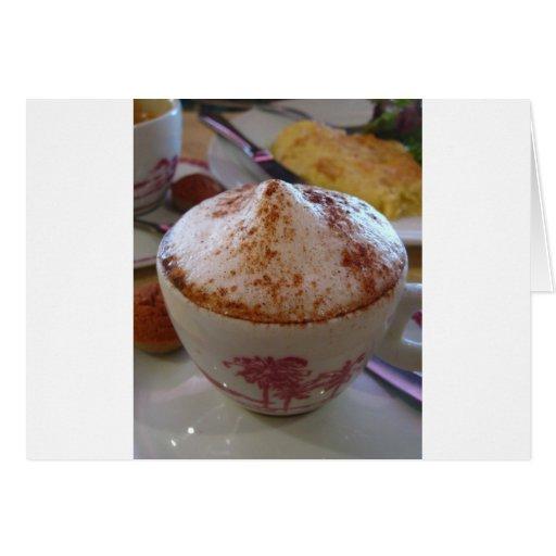 Coffee in Brazil Greeting Card