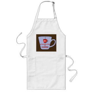Coffee in my Blood Barista Apron