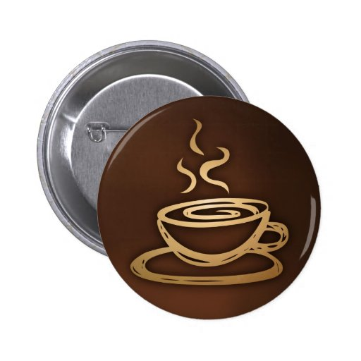 Coffee In My Cup 2 Inch Round Button