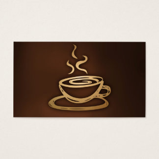Coffee In My Cup Business Card