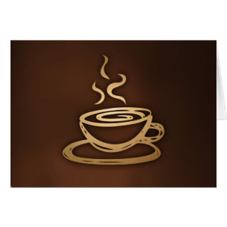 Coffee In My Cup Stationery Note Card