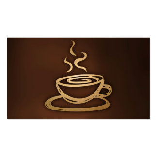 Coffee In My Cup Double-Sided Standard Business Cards (Pack Of 100)