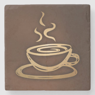 Coffee In My Cup Stone Beverage Coaster