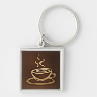 Coffee In My Cup Keychain