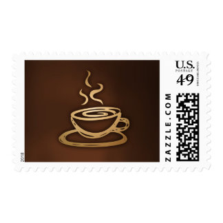 Coffee In My Cup Postage Stamps