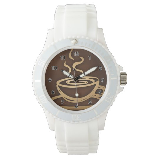 Coffee In My Cup Wristwatch