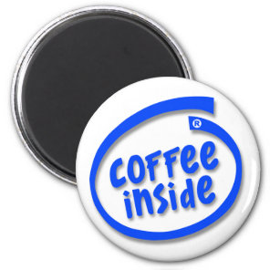 coffee Inside Magnet