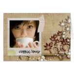 coffee instgagram photo card