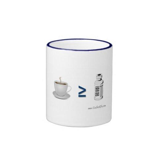 Coffee ≥ Insulin Ringer Coffee Mug