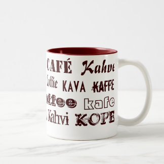 Coffee International Two-Tone Coffee Mug