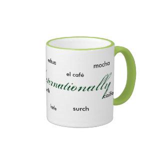Coffee Internationally Mug by Nicoholas Nichole