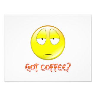 COFFEE CUSTOM INVITATION