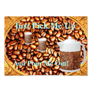 COFFEE INVITE - COFFEE BEANS AND FUN!