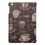 Coffee iPad Mini Cases