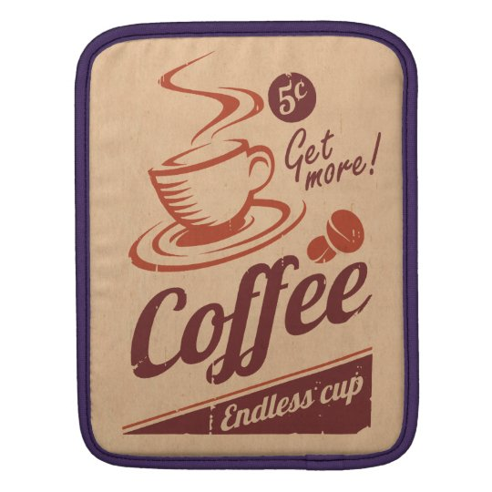 Coffee iPad Sleeve