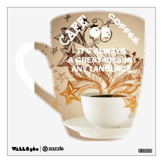 Coffee is always a great idea wall sticker
