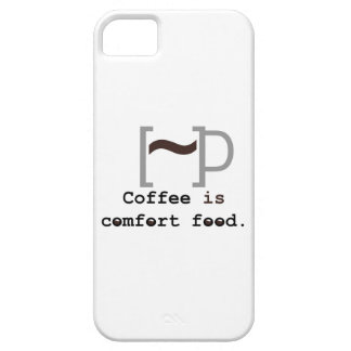 Coffee is Comfort Food iPhone 5 Cover